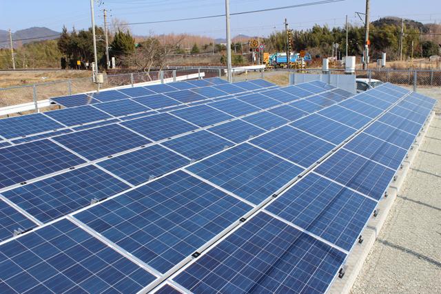 太陽光の施工実績